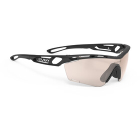 Rudy Project Tralyx Slim Cykelbriller, black matte/impactX 2 photochromic laser red